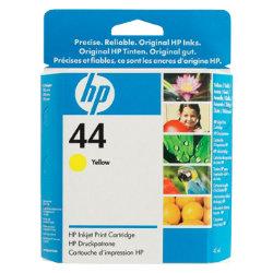 Original HP No.44 yellow printer ink cartridge 51644Y