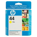 Original HP No44 yellow printer ink cartridge 51644Y