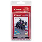 Canon CLI 526C M Y Original Ink Cartridge 3 Colours 3 pieces