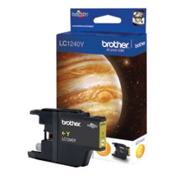 Brother LC1240Y Yellow Inkjet Cartridge