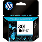 Original HP No301 black printer ink cartridge CH561EE