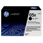 HP 05X High Capacity Black Toner Cartridge Twin Pack CE505XD