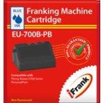 Compatible Franking Ink for Pitney Bowes E700 series Blue Ink