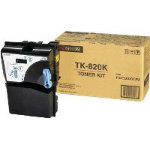 Kyocera TK 820 Original black toner cartridge 1T02HP0EU0