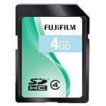 Fujifilm Sdhc Card Class 4 Fuji 4Gb