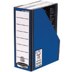 Bankers Box Fellowes R Kive Presto Premium Magazine Files Blue Pack 10