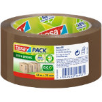Tesapack Eco Strong PP Packaging Tape Brown 56 m 50 mm x 66 m