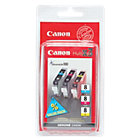 Canon CLI 8C M Y Original Ink Cartridge 3 Colours Pack 3