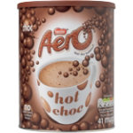 Nestle Aero Hot Drinking Chocolate 1Kg Tin