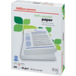 Office Depot recycled A4 80gsm printer paper white