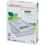 Office Depot Printer Paper A4 80gsm Off White 55 cie 500 sheets