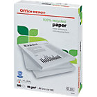 Office Depot recycled A4 80gsm printer paper off white