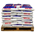 Standard Brown Rock Salt 1040 x 25KG bags