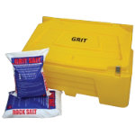 400 Litre Bin with 20 bags of 25kg Rock Salt