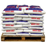 Standard Brown Rock Salt 40 x 25KG Bags