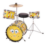 Spongebob 3pc Junior Drum Kit