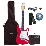 Electric guitar Outfit Red