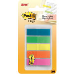 Post it Flags Highlighter Colours Small 13mm 4x25 Flags