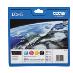 Brother LC985 Black and Colour Inkjet Multipack