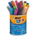 Bic Kids Visa XL Jumbo Felt Tip Pens Assorted Pack of 18