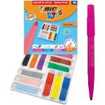 Bic Kids Visacolor XL Felt Tip Pens Class Pack of 96