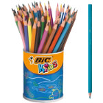 Bic Kids Evolution Resin Colouring Pencils Assorted Pack of 60