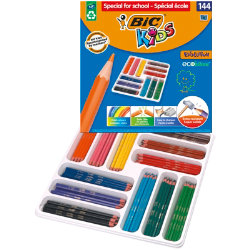 Bic Kids Evolution Colouring Pencils Class Pack of 144