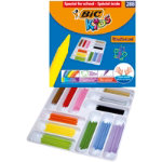 Bic Kids Plastidecor Jumbo Crayons Class Pack of 288