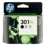 Original HP 301XL Hi Yield Black Ink Cartridge