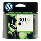 Original HP No301XL high capacity black printer ink cartridge CH563EE