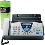 Brother FAX T106 Fax Machine and Brother PC72RF Ribbon