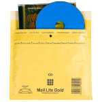 Sealed Air MailLite CD Mailer 10 pk Gold