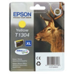 Epson T1304 yellow printer ink cartridge T130440