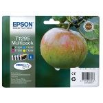 Epson T1295 Original Black 3 Colours Ink Cartridges C13T12954010