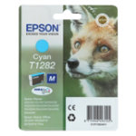 Epson T1282 Original Cyan Ink Cartridge C13T12824011