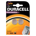 Duracell Coin Cell Lithium Battery DL2016 3V Pack of 2