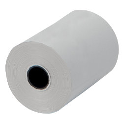 Machine Rolls  White 1 Ply  57Wmm X 47Dmm X 12 Core 25m