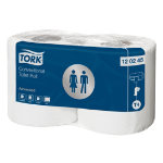 Tork Conventional Toilet Rolls White 200 sheets Pack of 36