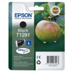 Epson black printer ink cartridge T129140