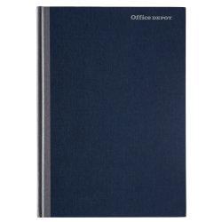 Office Depot A4 Feint Ruled A Z Casebound Manuscript Book