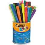Bic Kids Visa Washable Felt Tip Pens Assorted Pack of 36