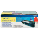 Brother TN320 Yellow Laser Toner Cartridge