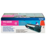 Brother TN 320M magenta toner cartridge