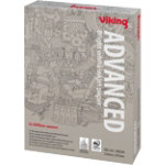 Viking Advanced A4 100gsm bright white inkjet printer paper 500 sheets