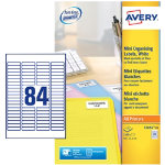 Avery Address Label L7656 White 2100 Labels per pack Pack 25