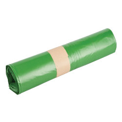 Office Depot Light Use Refuse Sacks 735 x 860mm Green 200 per box