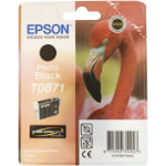 Epson T0871 Original Photo Black Ink Cartridge C13T08714010
