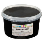 Brianclegg Finger Paints Black 500ml