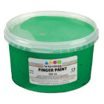 Brianclegg Finger Paints Green 500ml