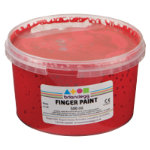 Brianclegg Finger Paints Red 500ml